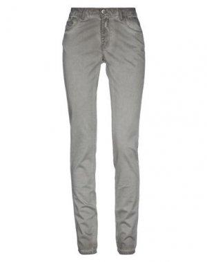 Повседневные брюки 2ND DAY. Цвет: серый