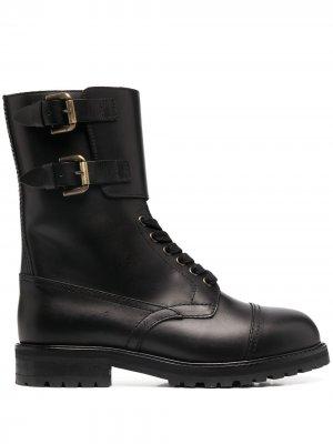 Ботинки Hank Semicouture. Цвет: черный