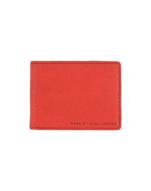 Бумажник MARC BY JACOBS. Цвет: красный