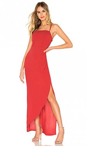 Макси платье BCBGeneration. Цвет: красный
