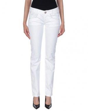 Повседневные брюки KILLAH. Цвет: белый