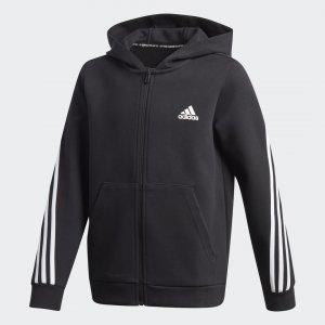 Толстовка 3-Stripes Performance adidas. Цвет: черный