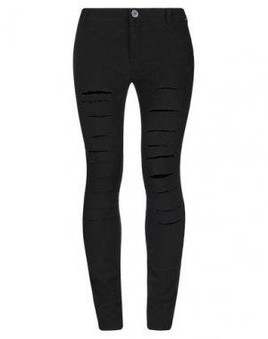 Повседневные брюки 10SEI0OTTO. Цвет: черный
