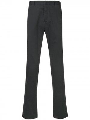 Классические брюки-чинос Cerruti 1881. Цвет: серый
