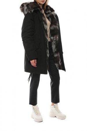 Куртка CANADIAN. Цвет: черный