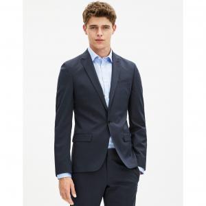 Пиджак зауженный Ruskinny CELIO. Цвет: темно-синий