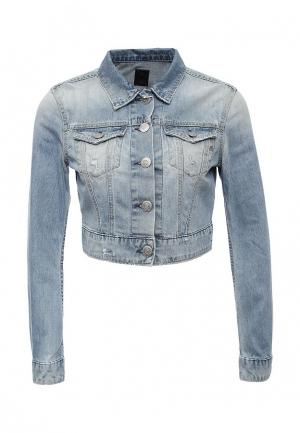 Куртка джинсовая Replay. Цвет: голубой
