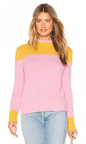 Пуловер blaire Lovers + Friends. Цвет: розовый