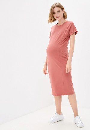 Платье Mama's fantasy. Цвет: розовый