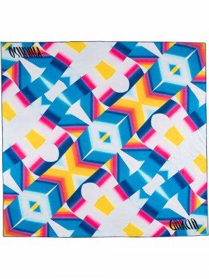 Пляжное полотенце Paraiso из коллаборации с Erin Garcia Stadium Goods. Цвет: синий