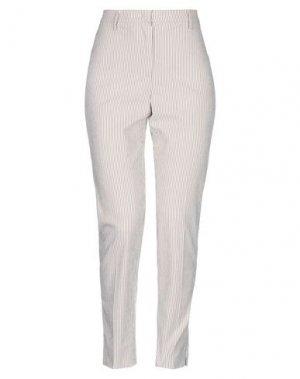 Повседневные брюки CAPPELLINI by PESERICO. Цвет: хаки