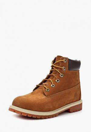 Ботинки Timberland 6 In Premium WP Boot. Цвет: бежевый