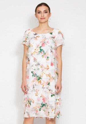 Платье D.VA. Цвет: белый
