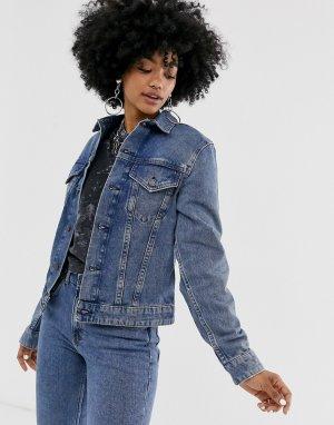 Джинсовая куртка Legit-Синий Cheap Monday