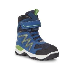 Ботинки высокие SNOW MOUNTAIN ECCO. Цвет: синий