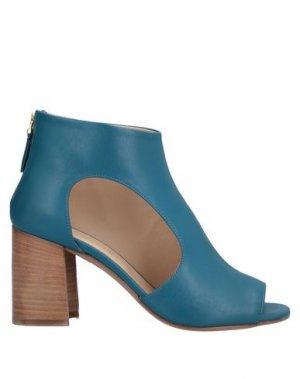 Полусапоги и высокие ботинки ANGELO BERVICATO. Цвет: синий