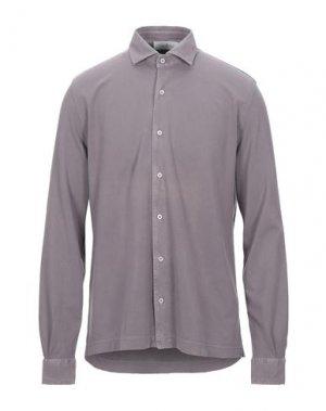Pубашка DELLA CIANA. Цвет: фиолетовый