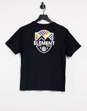 Черная футболка Beaming-Черный цвет Element
