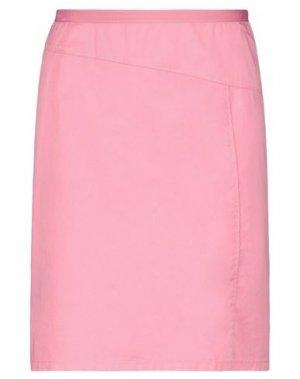 Юбка до колена GERRY WEBER. Цвет: розовый