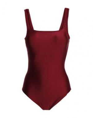 Слитный купальник LENNY NIEMEYER. Цвет: красно-коричневый