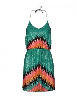 Короткое платье G-LISH. Цвет: зеленый
