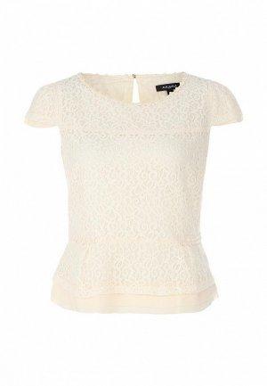 Блуза Axara AX003EWFU622. Цвет: белый