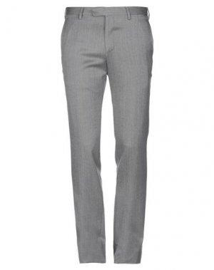 Повседневные брюки ANGELO NARDELLI. Цвет: серый
