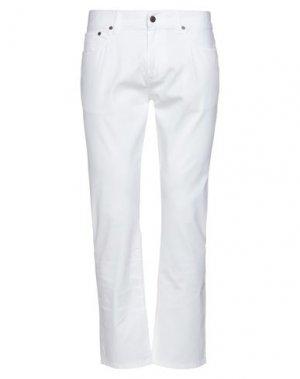 Повседневные брюки RED FLEECE by BROOKS BROTHERS. Цвет: белый