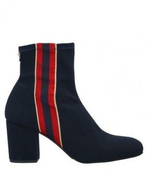 Полусапоги и высокие ботинки PEDRO MIRALLES. Цвет: темно-синий