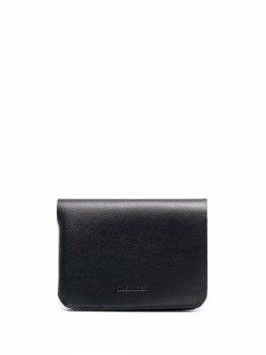 Складной кошелек Jil Sander. Цвет: черный