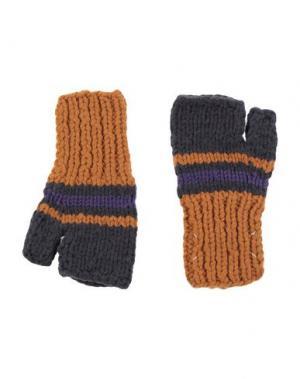Перчатки MAISON MARGIELA. Цвет: верблюжий