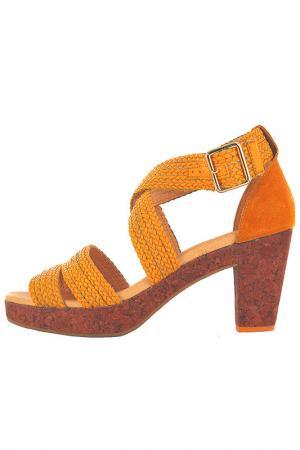 Босоножки Flip Flop. Цвет: оранжевый