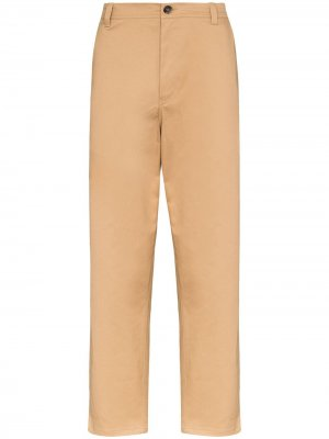 Твиловые брюки Taler Loreak Mendian. Цвет: коричневый