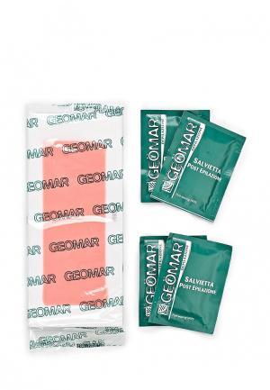 Полоски для депиляции Geomar восковые чувствительной кожи 20шт
