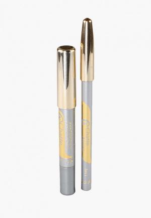 Набор для макияжа глаз Chatte Noire Карандаш + Карандаш-тени №64, 3,21. Цвет: серый