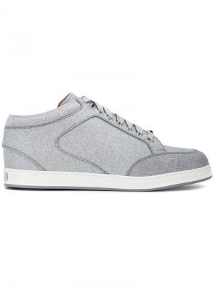 Miami sneakers Jimmy Choo. Цвет: металлик