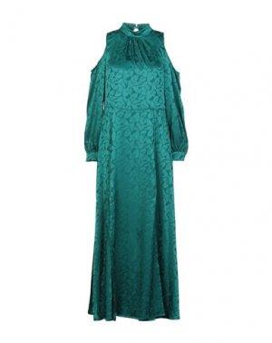 Длинное платье MARIUCCIA. Цвет: зеленый