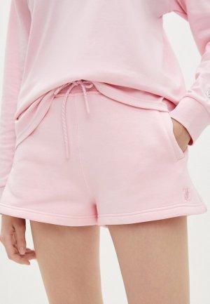 Шорты спортивные Juicy Couture HEAVEN. Цвет: розовый