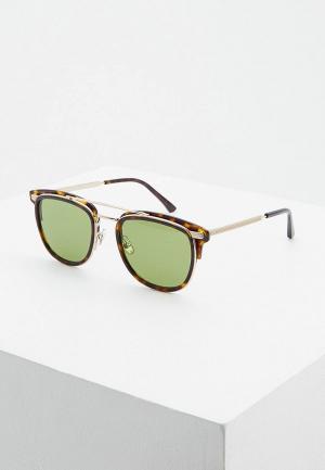 Очки солнцезащитные Jimmy Choo HANS/S 086. Цвет: коричневый