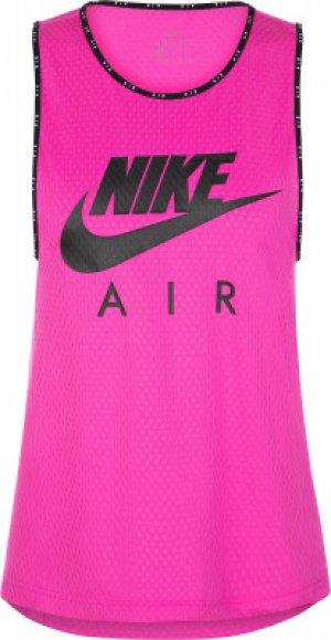 Майка женская Air, размер 46-48 Nike. Цвет: розовый