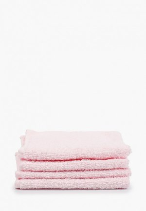 Набор полотенец Arya home collection 30*30 см.. Цвет: розовый