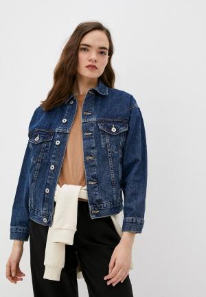 Куртка джинсовая Cotton On. Цвет: синий
