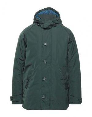 Пальто HENRI LLOYD. Цвет: темно-зеленый