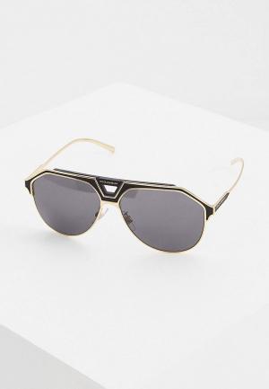Очки солнцезащитные Dolce&Gabbana DG2257 133487. Цвет: золотой