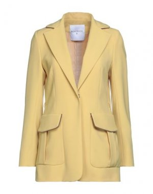 Пиджак BEATRICE. Цвет: желтый