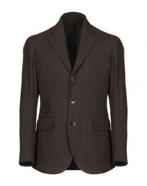Пиджак MAN 1924. Цвет: темно-коричневый