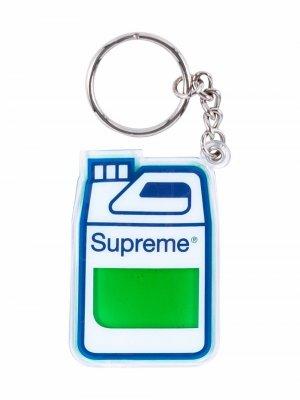 Брелок с подвеской Supreme. Цвет: зеленый