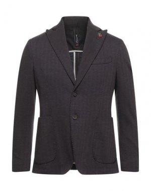 Пиджак FAAG. Цвет: коричневый
