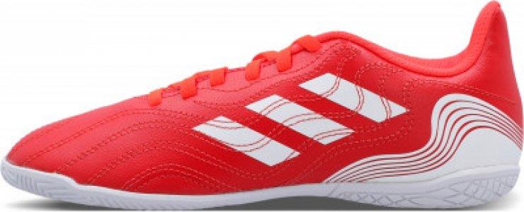 Бутсы для мальчиков adidas Copa Sense.4 IN J, размер 37.5. Цвет: красный