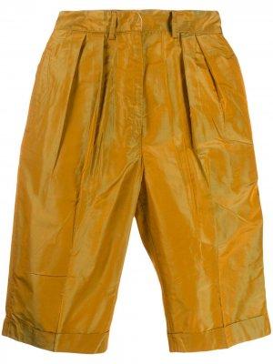 Укороченные брюки 1990-х годов Jean Paul Gaultier Pre-Owned. Цвет: желтый